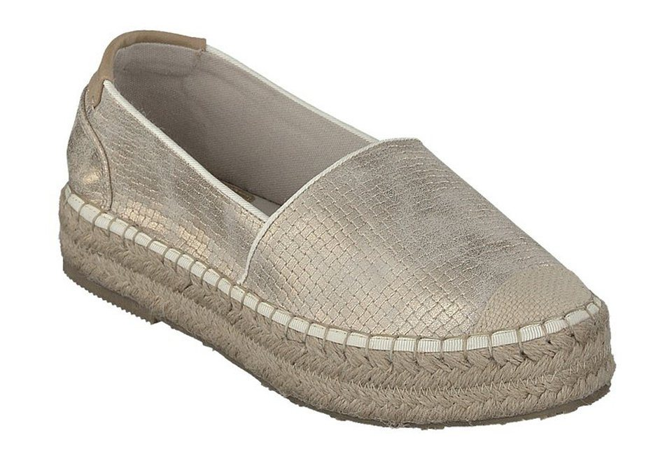 MUSTANG SHOES Espadrilles in gold