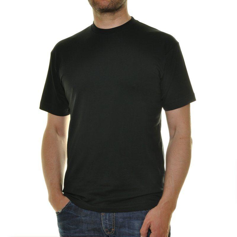 Ragman T-Shirt (Packung, 2er-Pack) in schwarz
