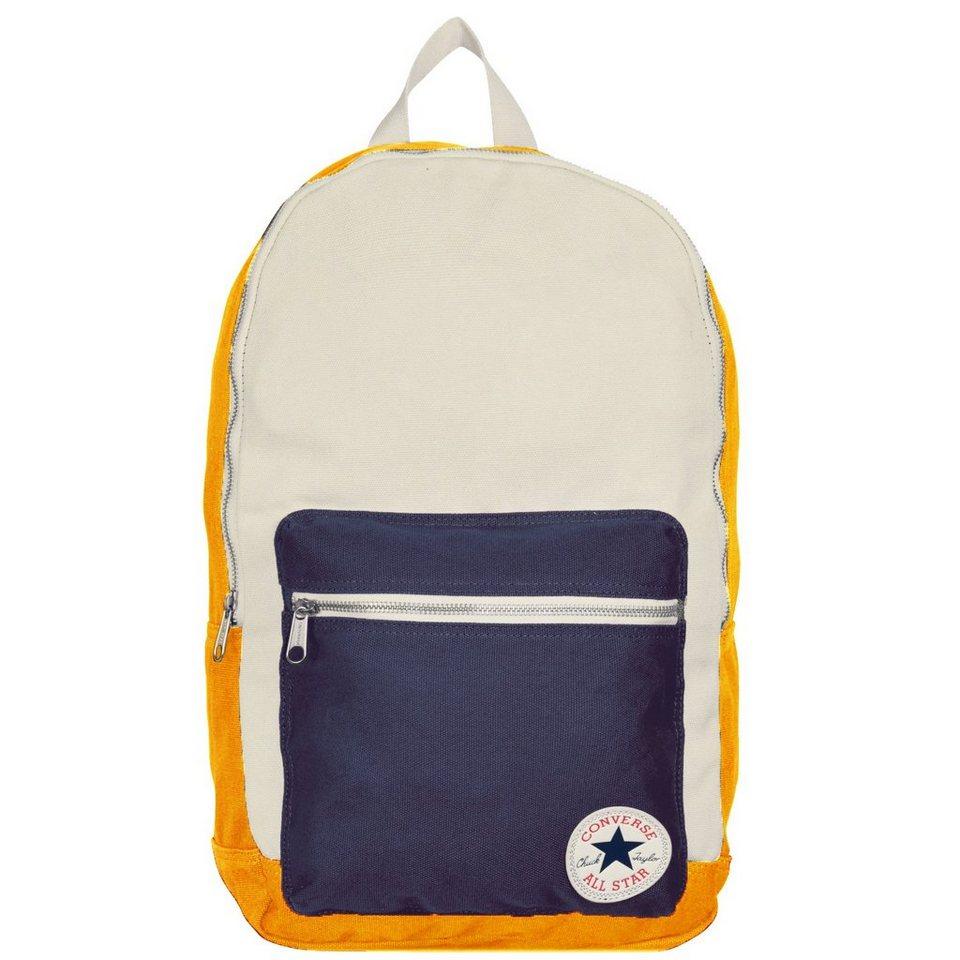 Converse Core Plus Canvas Backpack Rucksack 45,5 cm in solar orange-natural