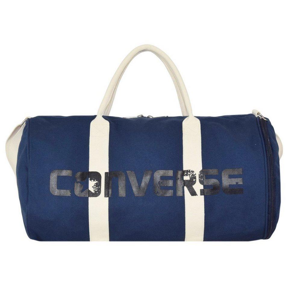Converse CTAS Graphic Canvas Duffel Sporttasche 49 cm in converse navy