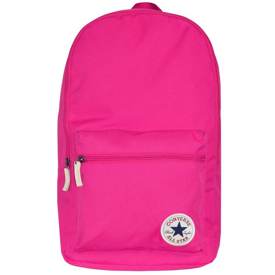 Converse Core Poly Backpack Rucksack 45 cm in plastic pink