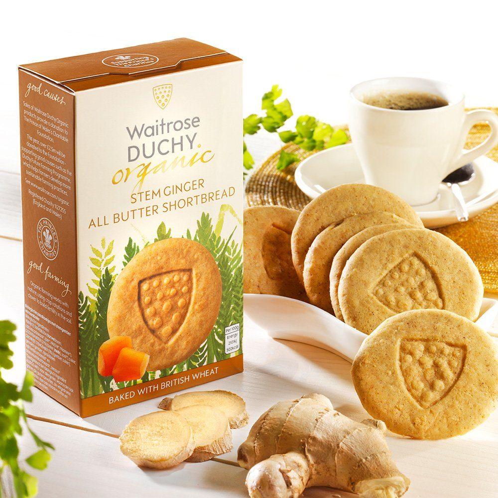 Duchy Shortbread Ingwer-Gebäck Bio