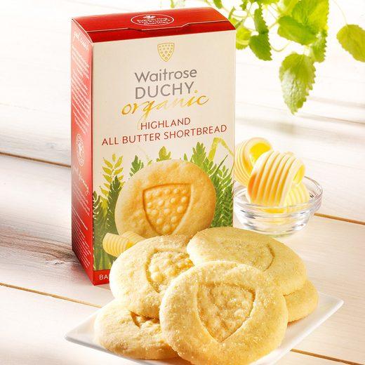 Duchy Duchy Originals Shortbread Butter Bio