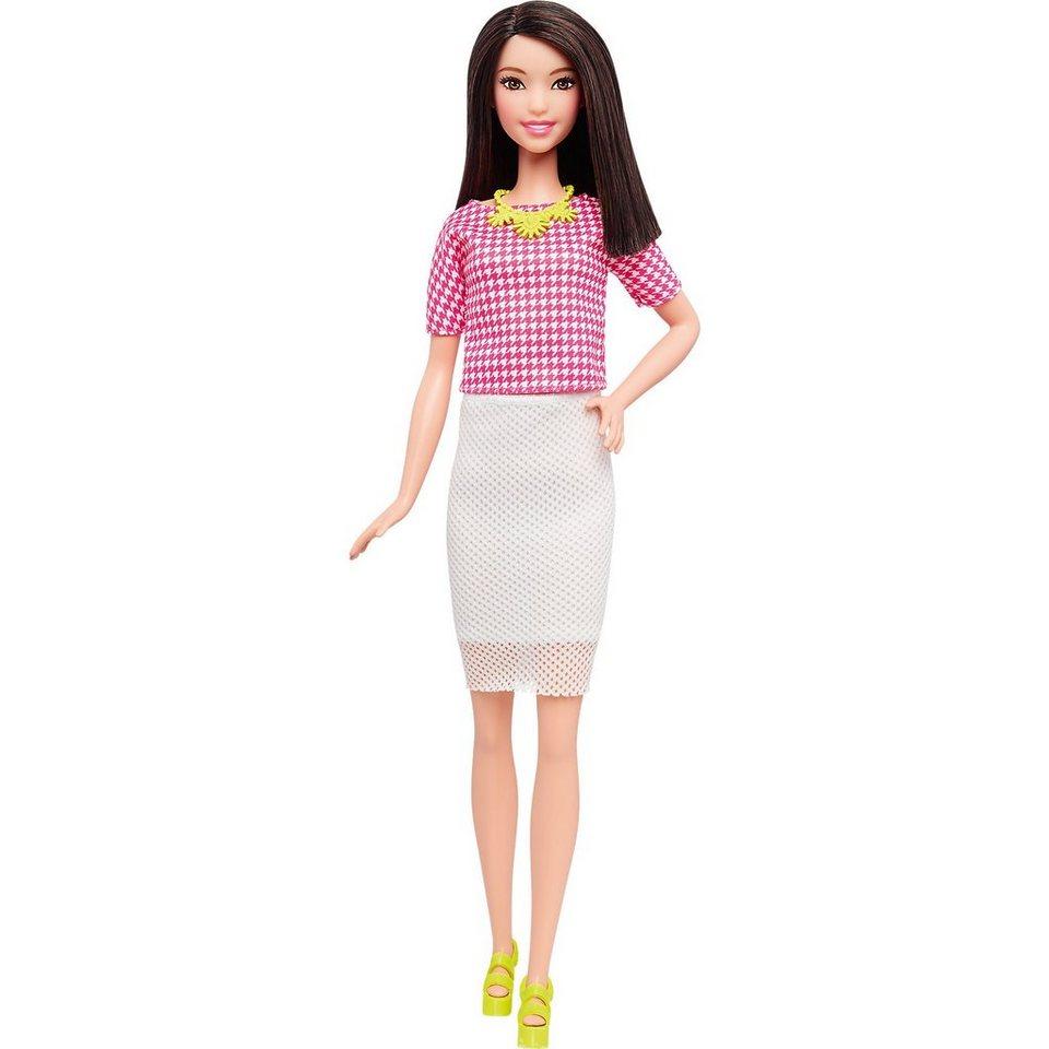Mattel Fashionista mit weißem weitmaschigem Rock