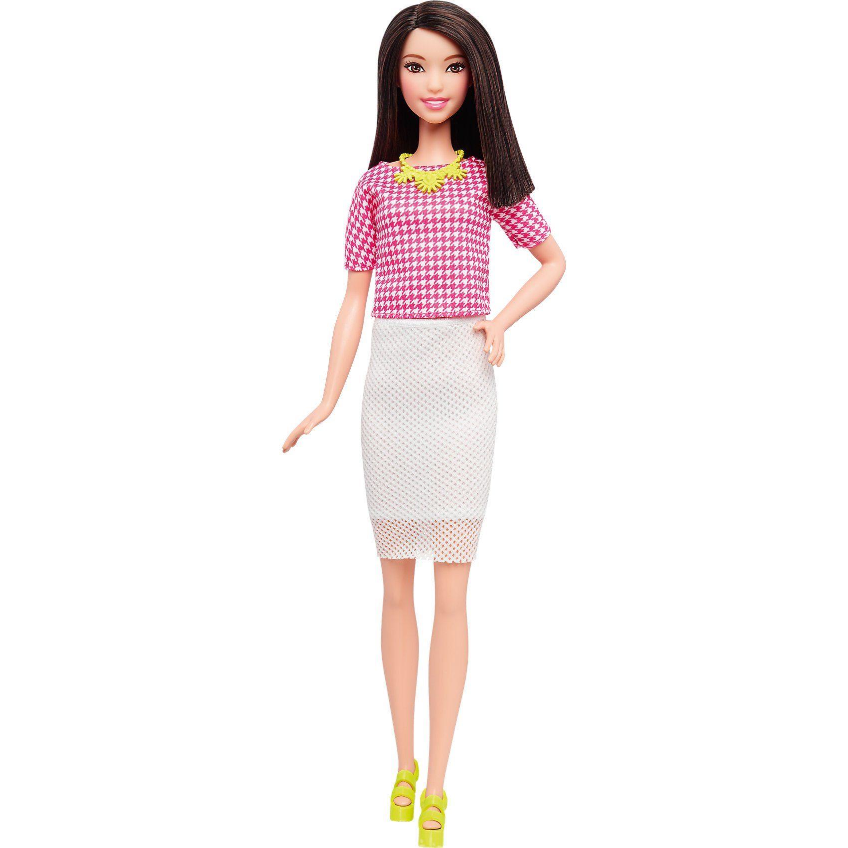 Mattel® Fashionista mit weißem weitmaschigem Rock