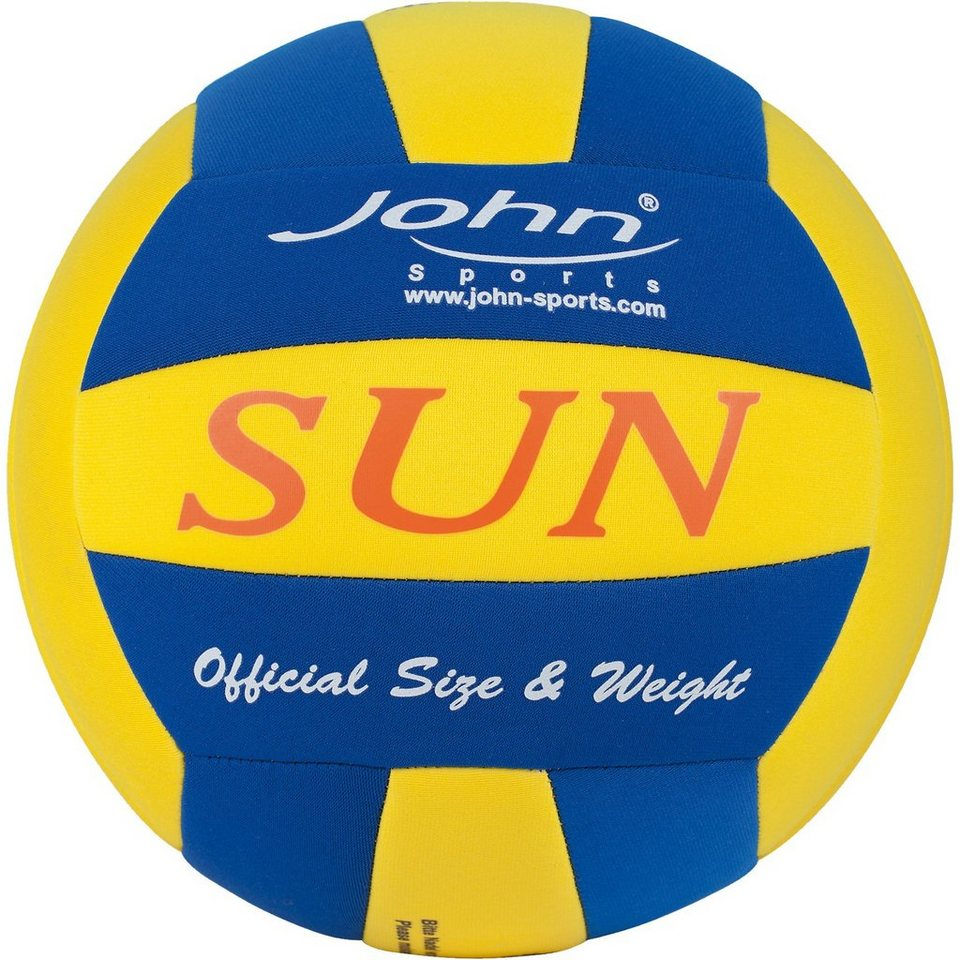 JOHN Volleyball Sun Neopren, blau in blau