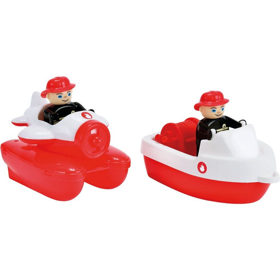 BIG Waterplay Fire-Boat-Set