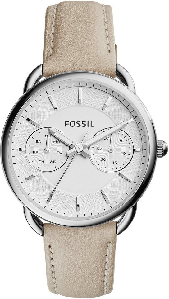 Fossil Multifunktionsuhr »TAILOR, ES3806« in creme