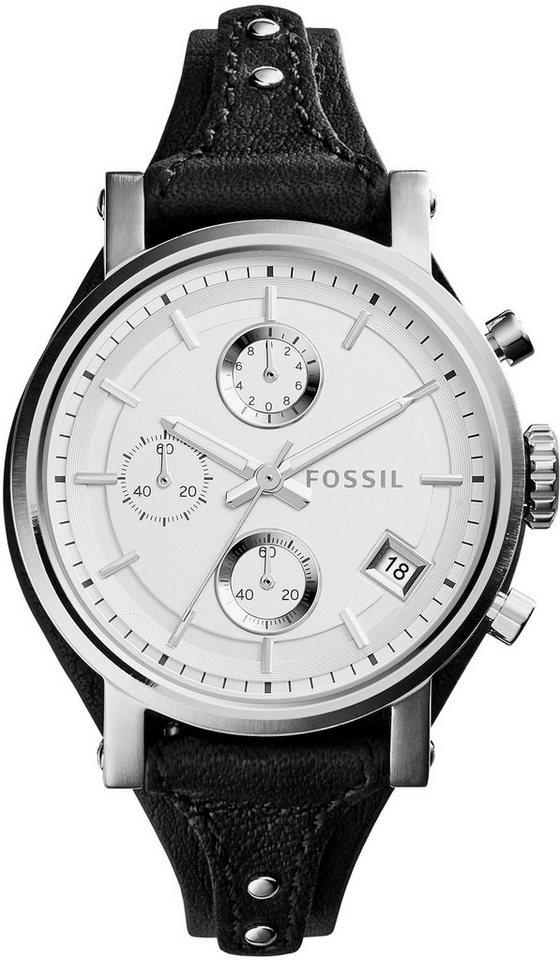 Fossil Chronograph »ORIGINAL BOYFRIEND, ES3817« in schwarz