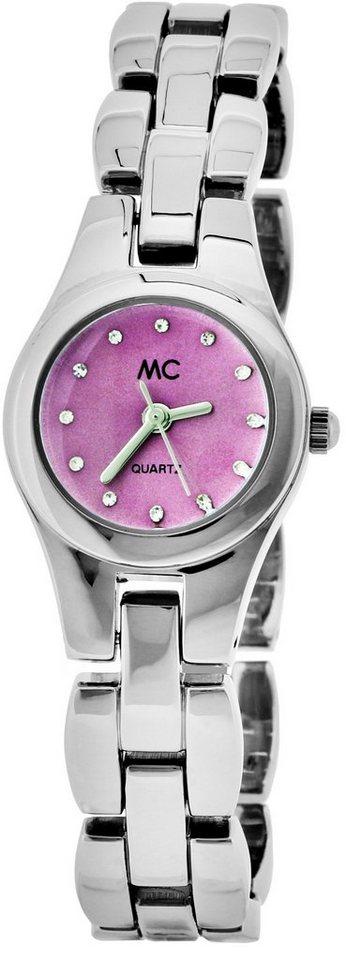 MC Quarzuhr »11256« in silberfarben