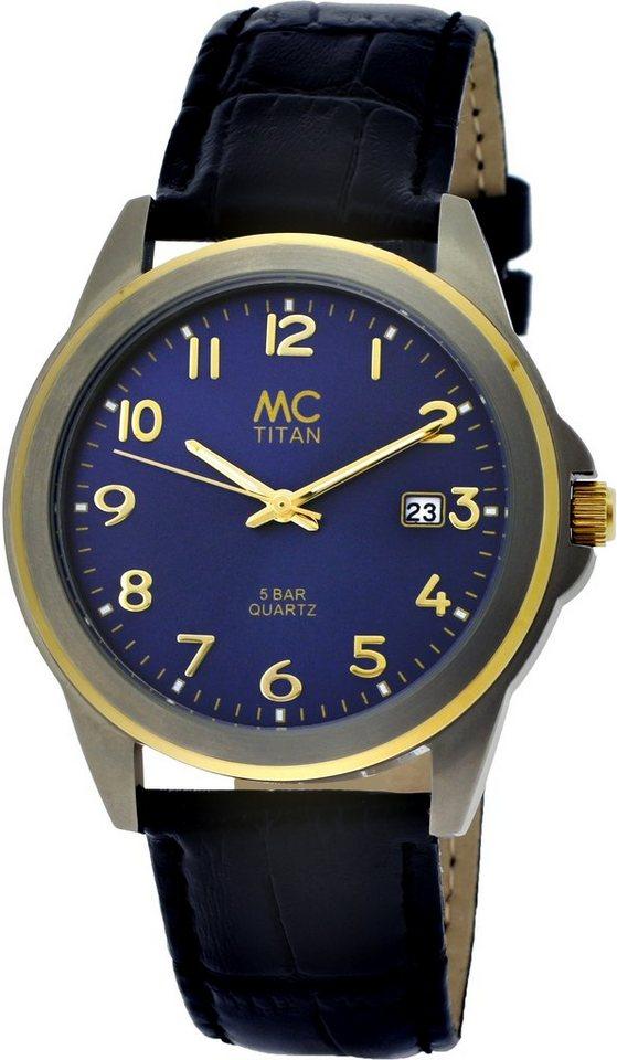 MC Armbanduhr, »26759« in schwarz