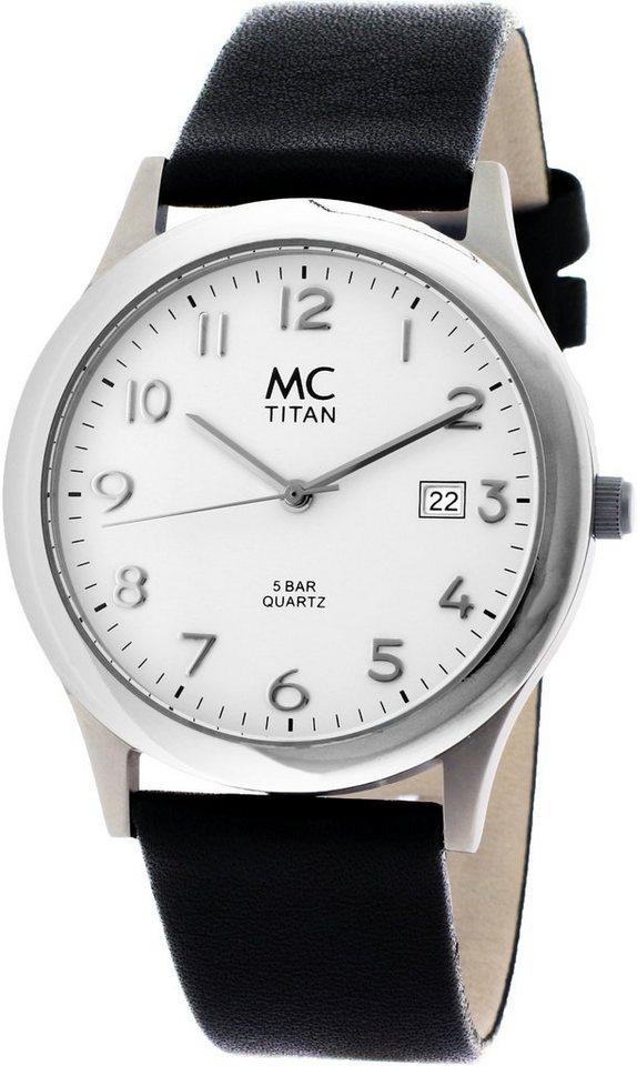 MC Armbanduhr, »26760« in schwarz
