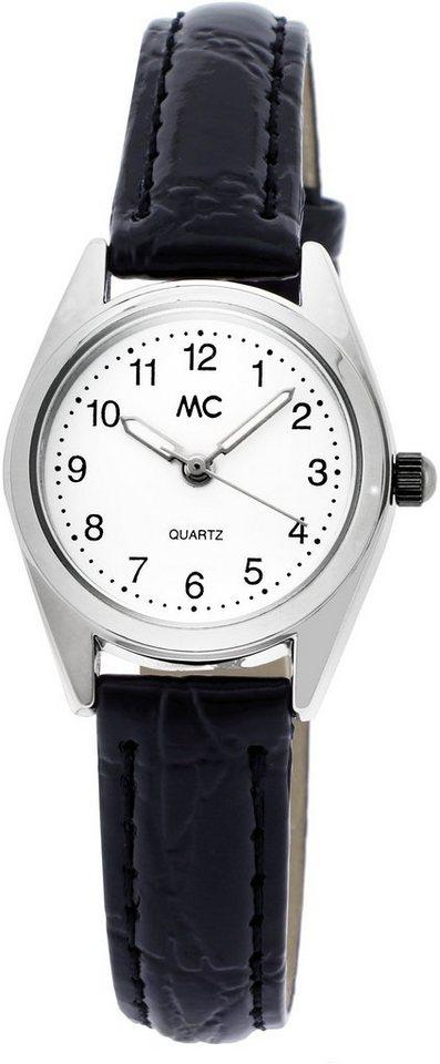 MC Armbanduhr, »15189« in schwarz