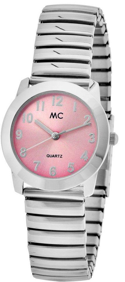 MC Armbanduhr, »17887« in silberfarben