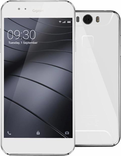 Gigaset ME Smartphone, 12,7 cm (5 Zoll) Display, LTE (4G), Android™ Lollipop 5.1.1, 16,0 Megapixel in grau