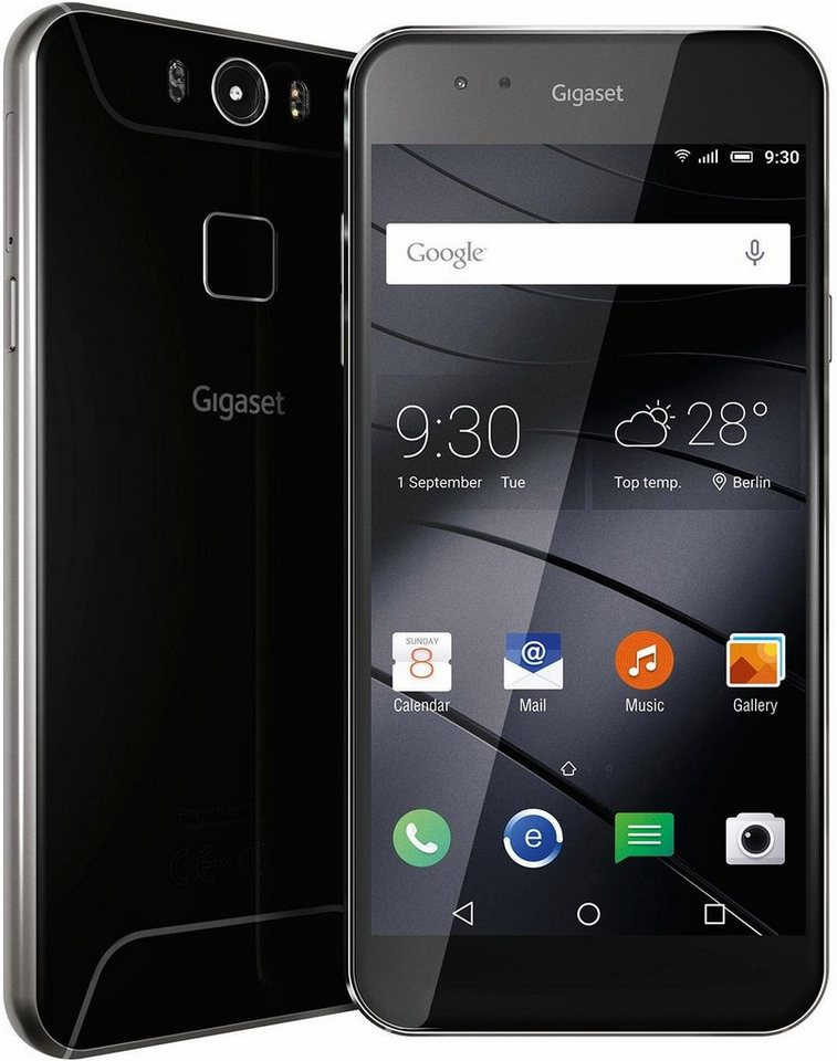Gigaset ME Pro Smartphone, 13,97 cm (5,5 Zoll) Display, LTE (4G), Android™ Lollipop 5.1.1 in schwarz