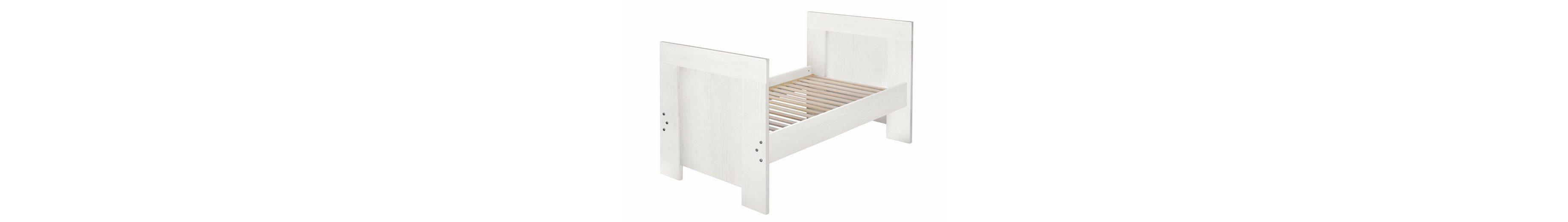 Umbauseiten zum Juniorbett für die Babymöbel Serien Granny, Ziggo und Dandy, in anderson pine