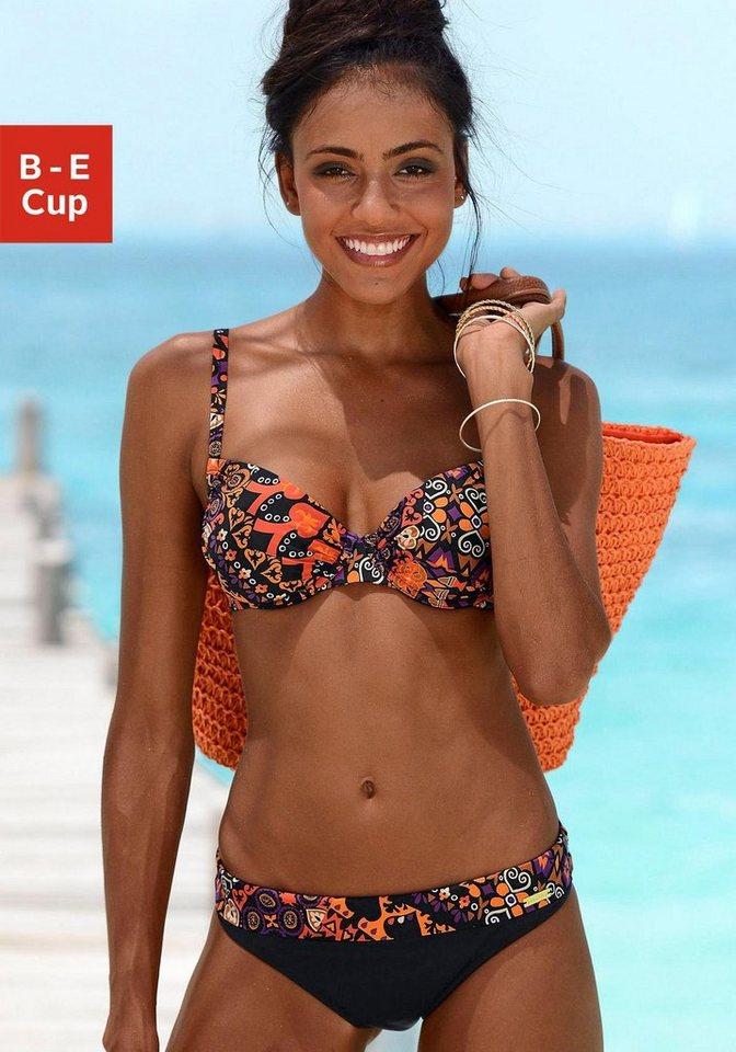 Bügel-Bikini, LASCANA in bunt bedruckt
