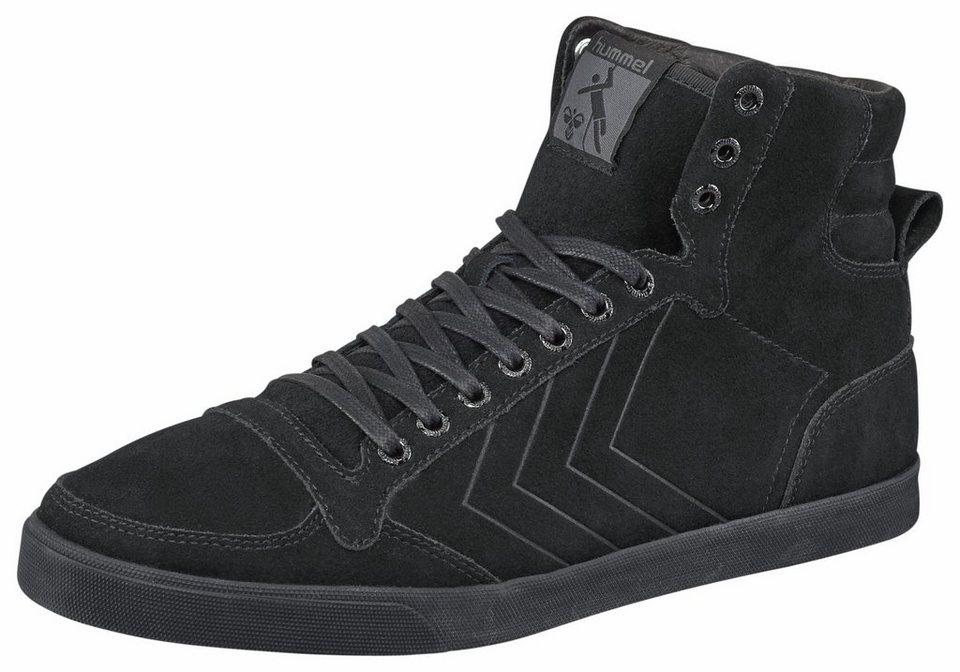 Hummel »Slimmer Stadil Tonal High« Sneaker in schwarz