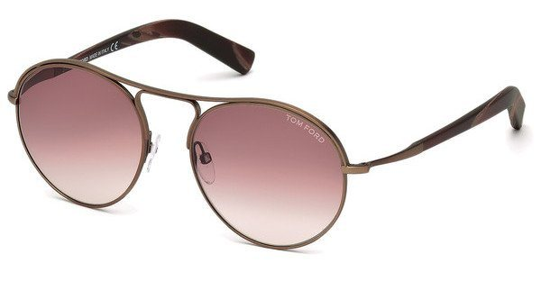 Tom Ford Herren Sonnenbrille »Jessie FT0449« in 49T - braun/rot