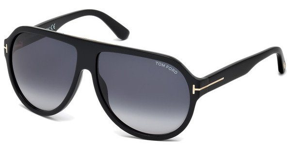 Tom Ford Herren Sonnenbrille » FT0464« in 01W - schwarz/blau