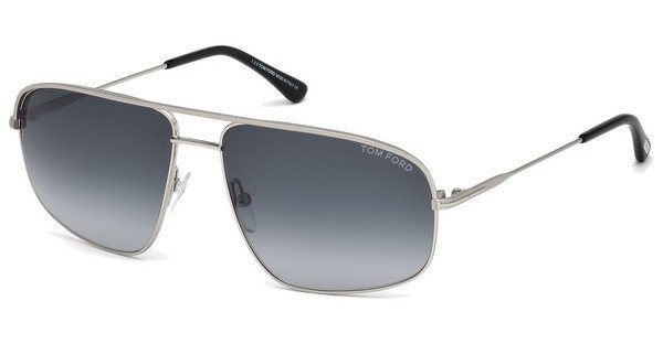 Tom Ford Herren Sonnenbrille » FT0467« in 17W - silber/blau