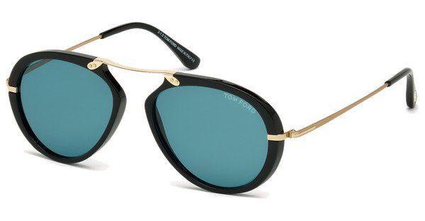 Tom Ford Herren Sonnenbrille »Aaron FT0473«, braun, 52N - braun/grün