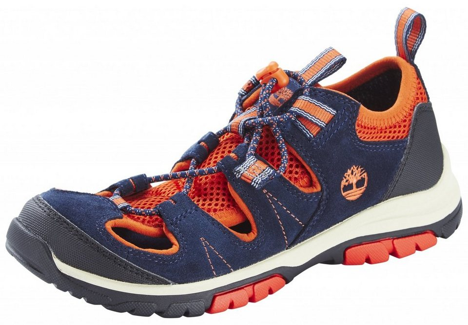 Timberland Halbschuhe »Fisherman Shoes Junior Zip Trail« in blau