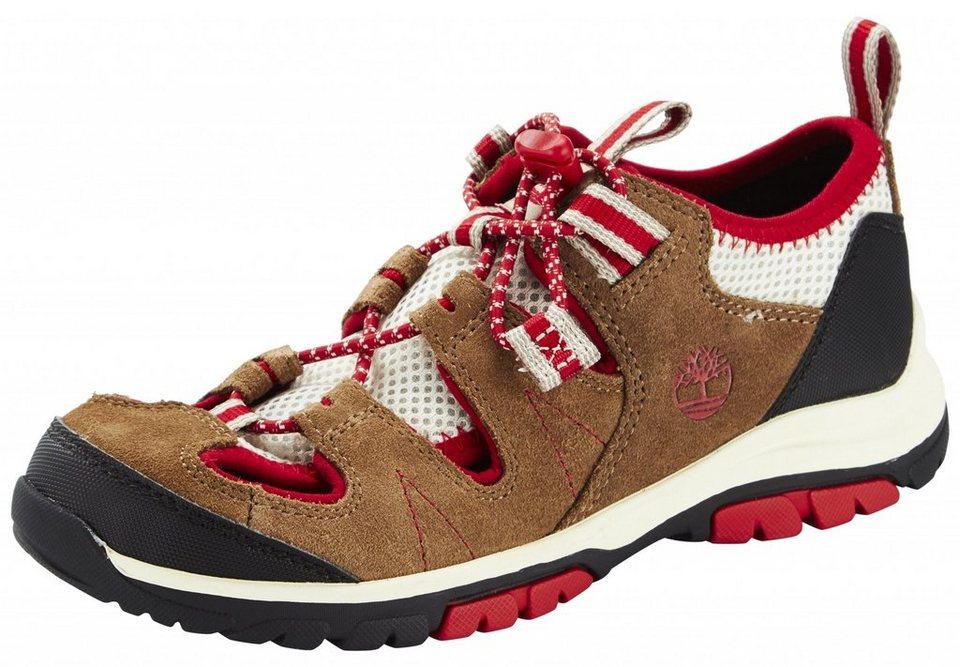 TIMBERLAND Halbschuhe »Fisherman Shoes Junior Zip Trail« in beige