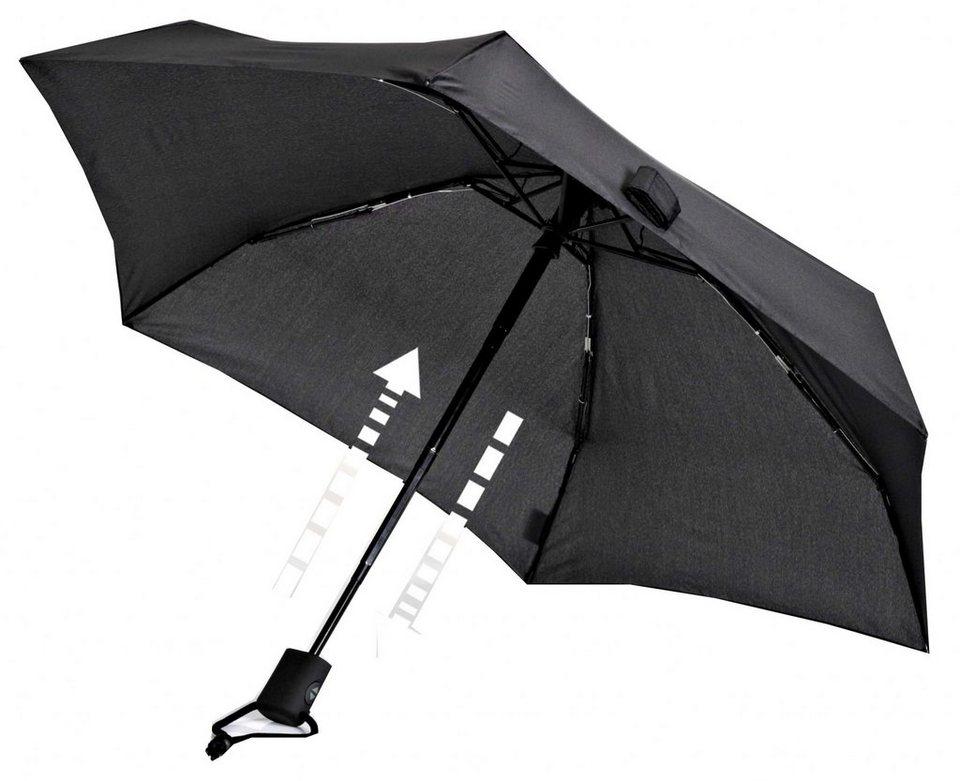 EuroSchirm Regenschirm »Dainty Automatic Regenschirm« in schwarz