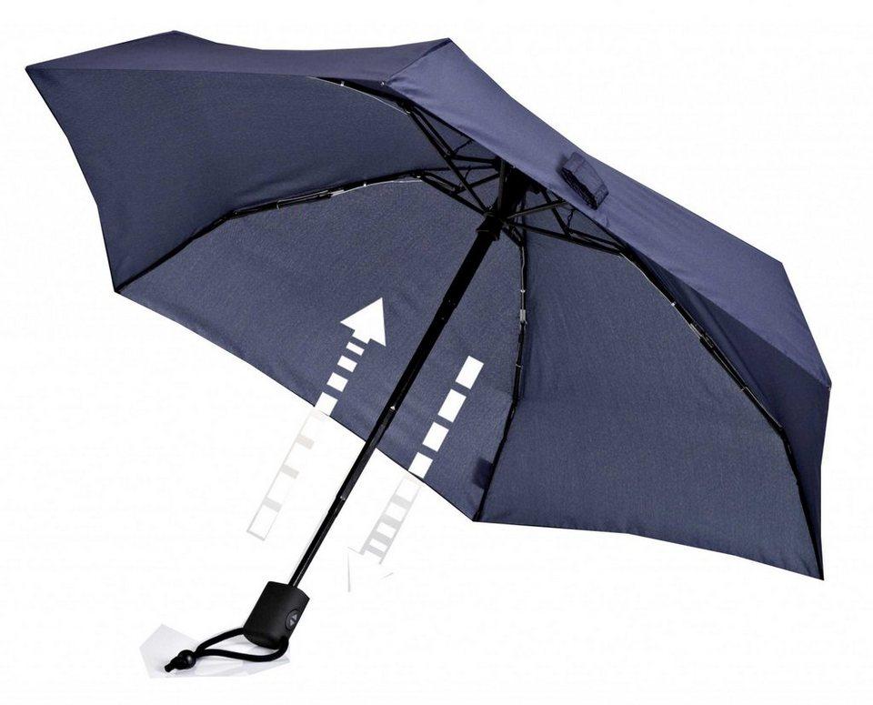EuroSchirm Regenschirm »Dainty Automatic Regenschirm« in blau