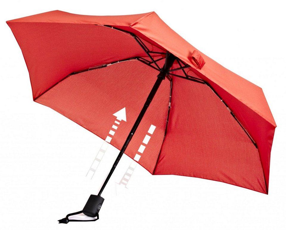 EuroSchirm Regenschirm »Dainty Automatic Regenschirm« in rot