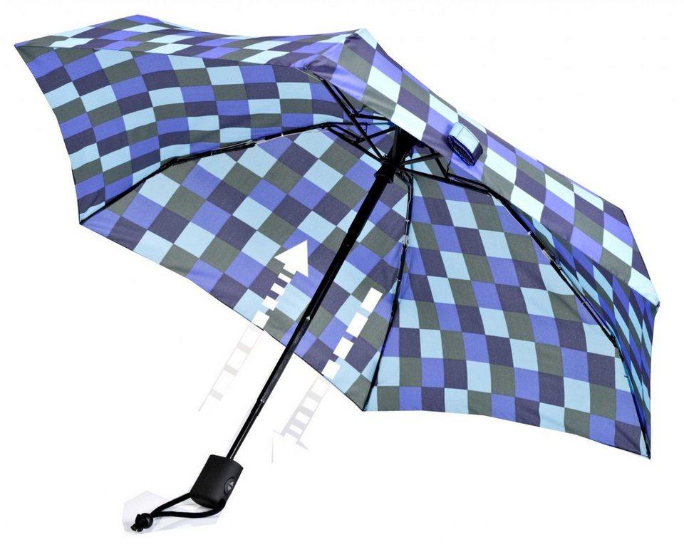 EuroSchirm Regenschirm »Dainty Automatic Regenschirm CWS 1« in blau