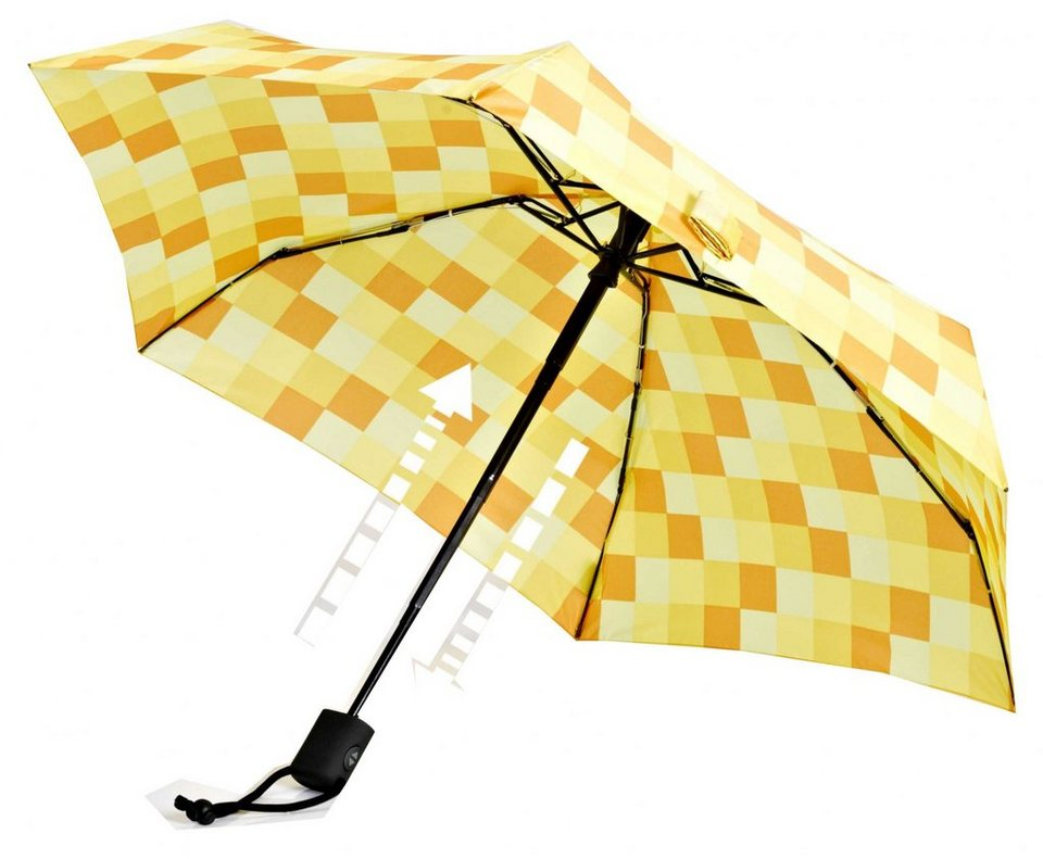 EuroSchirm Regenschirm »Dainty Automatic Regenschirm CWS 3« in gelb