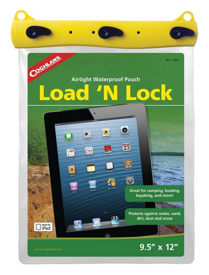 Coghlans Wertsachenaufbewahrung »Load 'n Lock Dry Pouch L« in transparent