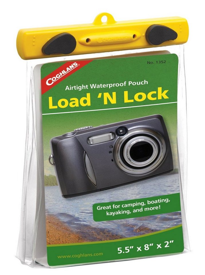 Coghlans Wertsachenaufbewahrung »Load 'n Lock Dry Pouch M« in transparent