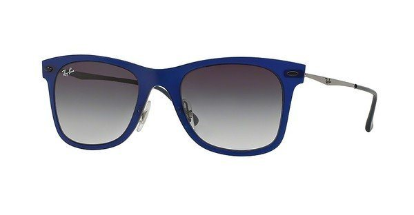 RAY-BAN Herren Sonnenbrille » RB4210« in 895/8G - blau/grau