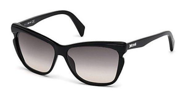 Just Cavalli Damen Sonnenbrille » JC738S« in 01B - schwarz/grau