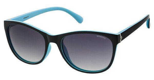 Polaroid Damen Sonnenbrille » P8339« in D51/IX - schwarz/grau