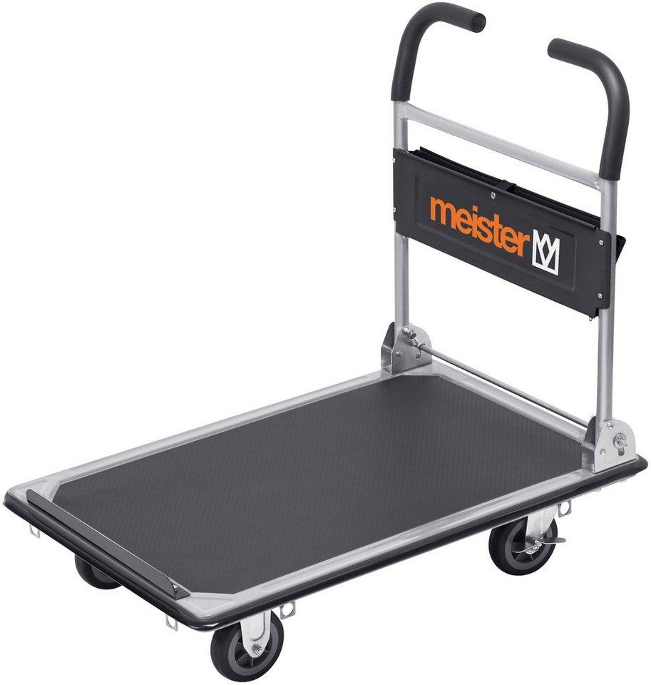 Meister Transportwagen »cut off « 300 kg, klappbar in schwarz