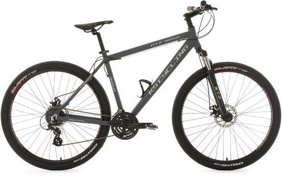 KS Cycling Mountainbike »GTZ«, 24 Gang Shimano Altus Schaltwerk, Kettenschaltung