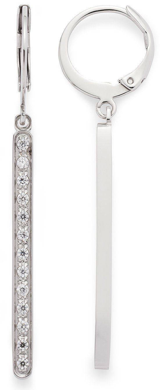 Jewels by Leonardo Paar Creolen mit Kristallsteinen, »minimo, 015868«