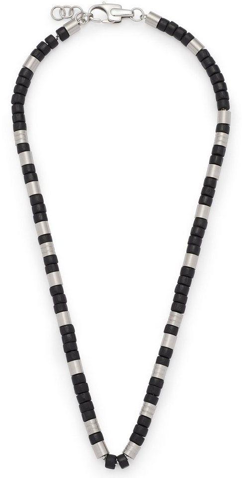 Jewels by Leonardo Kette, »liberale men, 015959« in silberfarben-schwarz