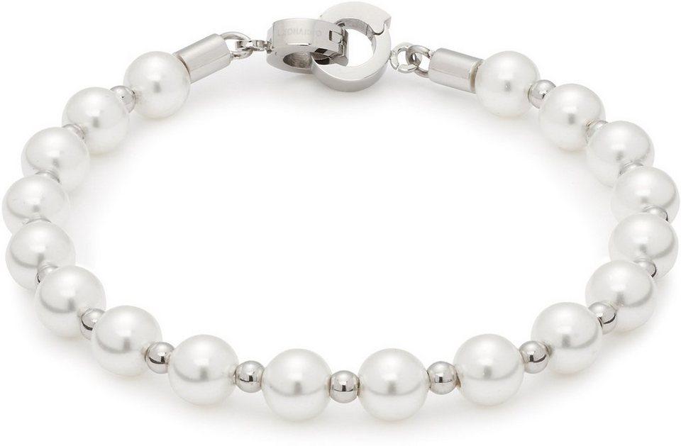 Jewels by Leonardo Armband mit Muschelperlen, »darlin's signora, 015860« in silberfarben-Perlmuttfarben