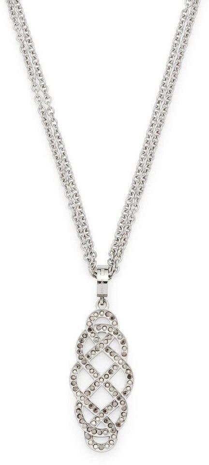 Jewels by Leonardo Kette mit Charm-Einhänger mit Hämatit, »gordiano, 015869« in silberfarben