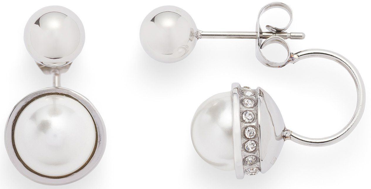 Jewels by Leonardo Paar Ohrstecker mit Muschelperlen, »vero, 015824«