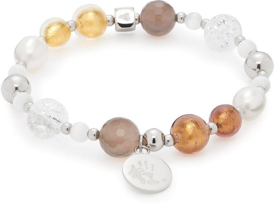 Jewels by Leonardo Armband mit Glassteinen, »darlin's hope v, 015874« in silberfarben-multicolor