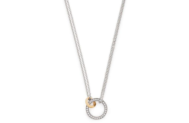 Jewels by Leonardo Kette mit Kristallsteinen, »darlin's collegare, 015901«