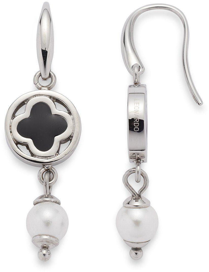 Jewels by Leonardo Paar Ohrhaken mit Muschelperlen, »opulento, 015828«
