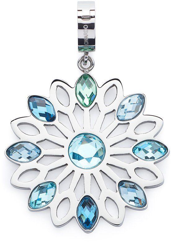 Jewels by Leonardo Charm-Einhänger mit Glassteinen, »darlin's lamina, 015845«